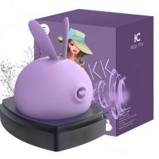 Massageador corporal com 3 modos de sucção diferentes, 10 modos de vibração - KT018