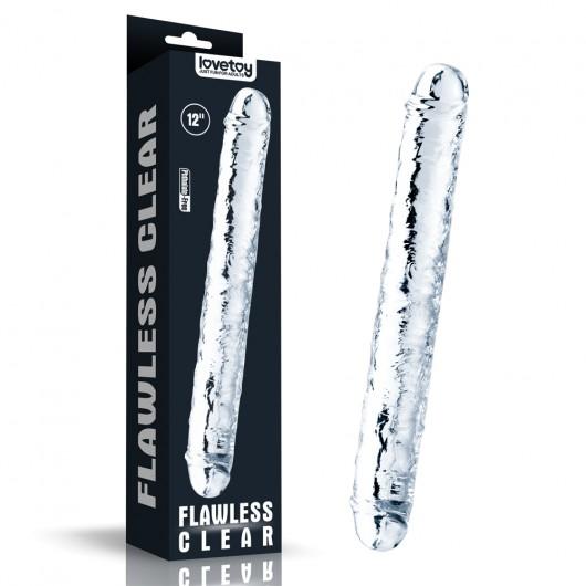 Pênis Realistico Duplo feito em Jelly TPE - PE097