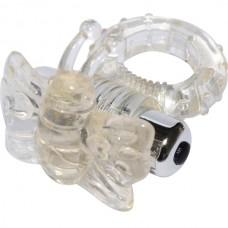 Anel Peniano com 7 Vibrações Estimulador Borboleta - BUTTERFLY VIBERATION COCKRING  - AN019
