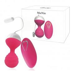 Esfera para Pompoar Recarregável Wireless com 10 Modos de Vibração - MAN NUO MoNie - BW022