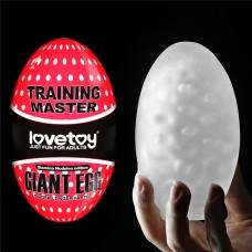BIG EGG Masturbador masculino com formato de ovo gigante - LOVE TOY - MA001A