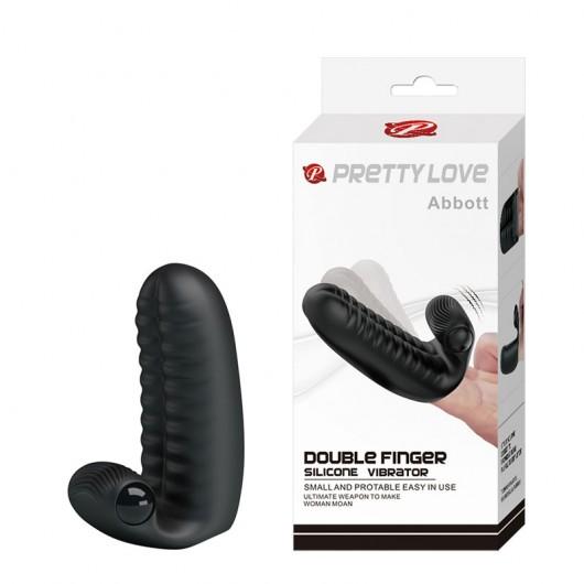 Dedeira com Estimulador Clitoriano Vibrador - PRETTY LOVE ABBOTT - MV005C